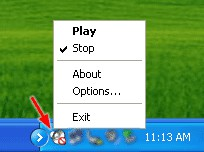 White Noise Player 1.01 screenshot