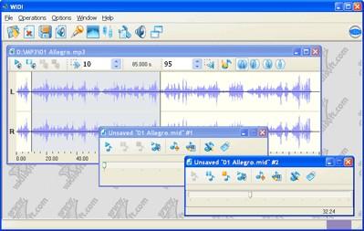 WIDI Recognition System Standard 3.3 screenshot