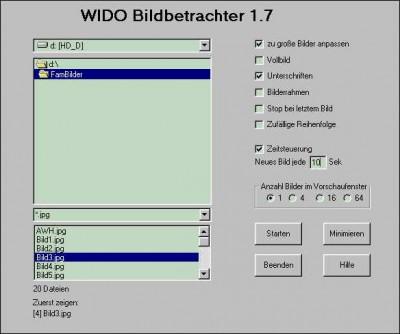 WIDO Bildbetrachter 2.7 screenshot