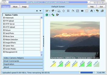 Willing Webcam 5.51 screenshot