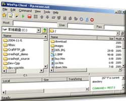 Win FTP Client 1.90 screenshot