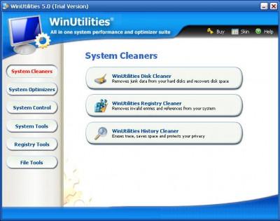 Win Utilities 5.12.712 screenshot