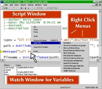 WinBatch 2021A screenshot