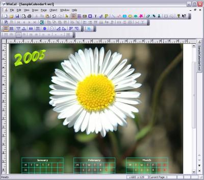 WinCal 4.9.0 screenshot