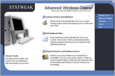 WinClean Pro 1.0.0.1 screenshot