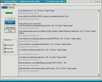 Windows Clipboard Helper 3.0.1 screenshot