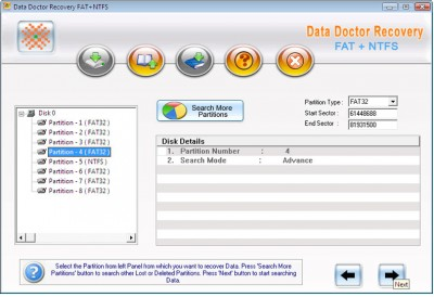 Windows Files Recovery 3.0.1.5 screenshot