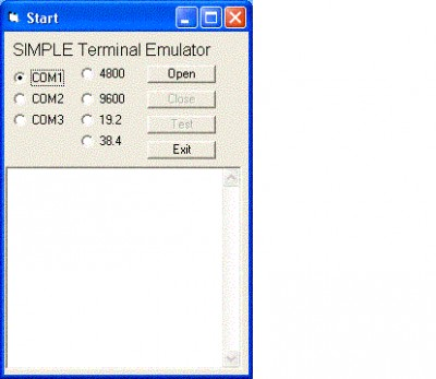 Windows Std Serial Comm Lib for Xbase++ 5.4.1 screenshot