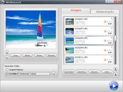 Windows Watermark Software 2.9.3 screenshot