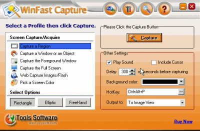 WinFast Capture 1.0 screenshot