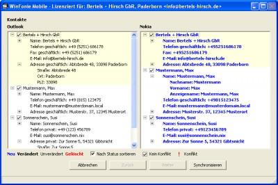 Winfonie mobile 2.4.2.13 screenshot