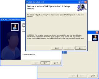 WinFormWizard for .NET 1.1 1.0 screenshot