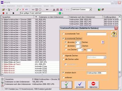 WinFR File Renamer 5.60 screenshot