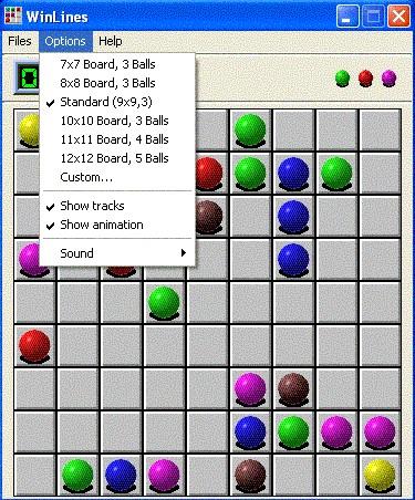 WinLines 2.1 screenshot