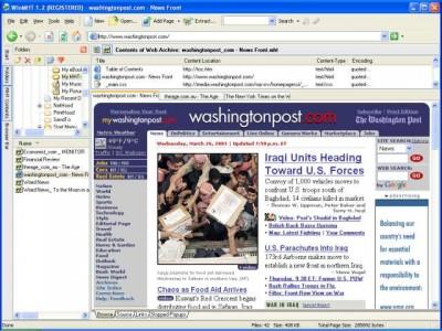 WinMHT 1.4 screenshot
