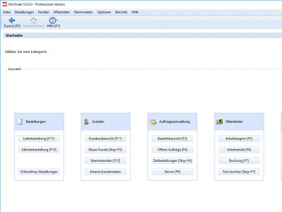 WinOrder 5.0.0.6 screenshot