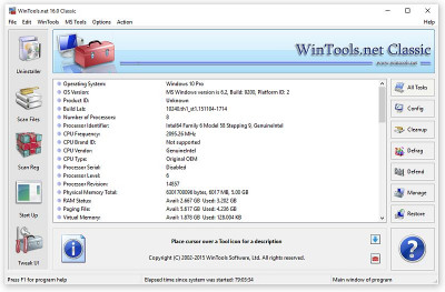 WinTools.net Classic 18.5 screenshot