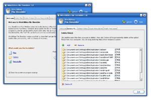 WinUtilities File Shredder 4.71 screenshot