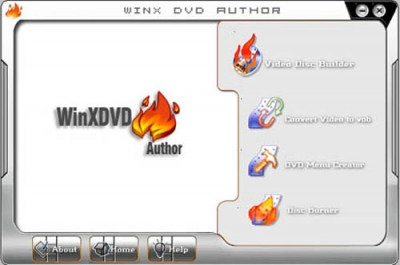 WinX DVD Author 5.5 screenshot