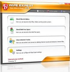 Wipe Expert 3.0.0.22 screenshot