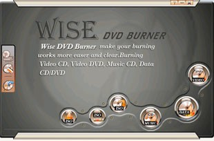 Wise DVD Burner 3.5.5 screenshot