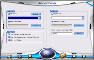 Wise DVD Copy 4.0.8 screenshot
