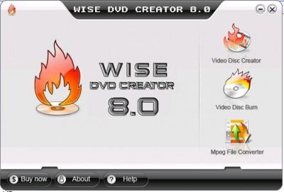 Wise DVD Creator 8.1.16 screenshot