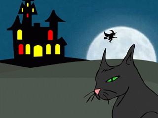 Witchy Night Halloween Wallpaper 2.0 screenshot