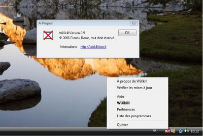 Wixkill 0.9.0.0 screenshot