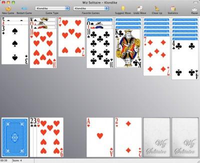 Wiz Solitaire 1.52 screenshot