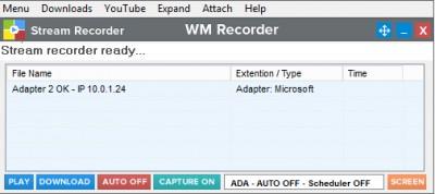 WM Recorder 15.2.0 screenshot