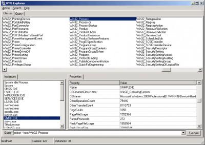 WMI Explorer 1.16 screenshot