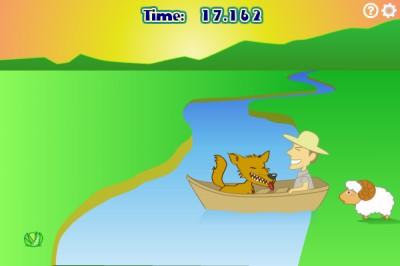 Wolf, Sheep and Cabbage 1.5.2 screenshot