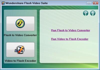 Wondershare Flash Video Suite 2.4.64 screenshot