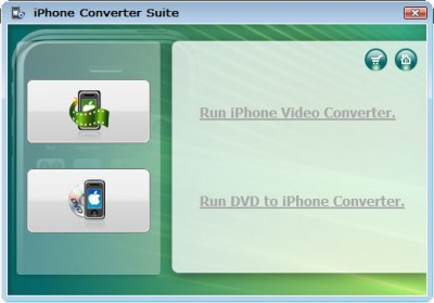 Wondershare iPhone Converter Suite 3.2.24 screenshot