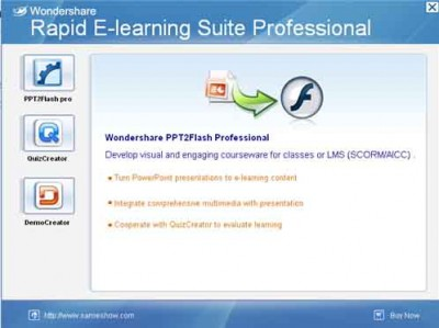 Wondershare Rapid E-Learning Suite Pro 5.2.0 screenshot