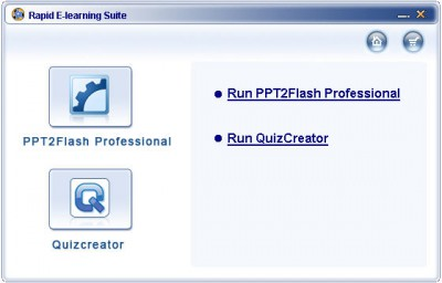 Wondershare Rapid E-Learning Suite Std 5.2.0 screenshot