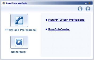 Wondershare Rapid E-learning Suite 4.2.6 screenshot