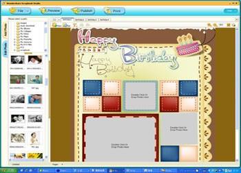 Wondershare Scrapbook Studio 1.1.0 screenshot