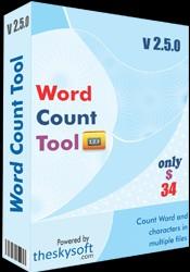 Word Count Tool 3.6.3.22 screenshot