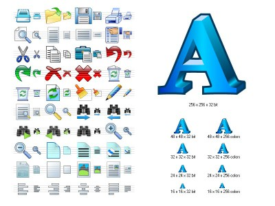 Word Icon Library 3.9 screenshot