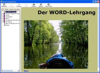 Word Lehrgang 2.0 screenshot
