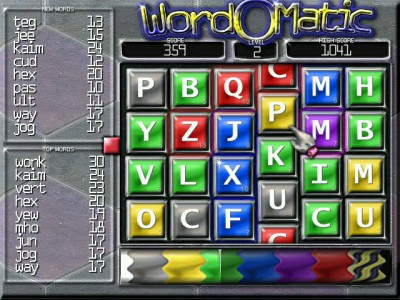 WordOMatic 1.4.1 screenshot