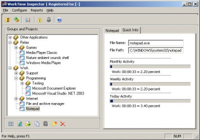WorkTime Inspector 1.0 screenshot