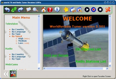 world TVRT 5.501 screenshot
