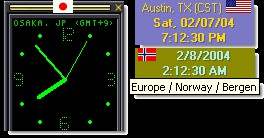 WorldTime Clock 3.1.0 screenshot