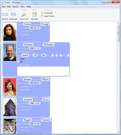 WowBase 1.58 screenshot