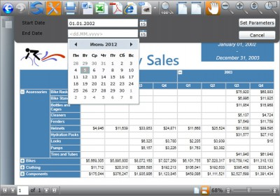 WPF Viewer for Reporting Services 3.2 screenshot