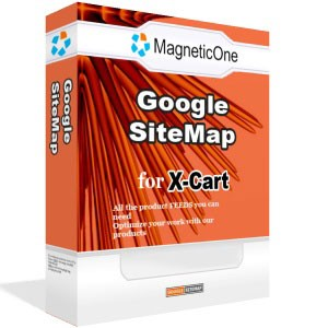 X-Cart Google SiteMap - X Cart Mod 4.0 screenshot