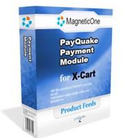 X-Cart Pay Quake Payment Module - X Cart Mod 4.0 screenshot